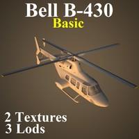 3d model bell basic