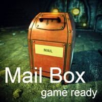 ready mailbox 3d 3ds