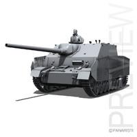 3d model sd kfz 162 1