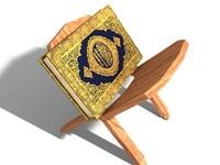 3d model quran book