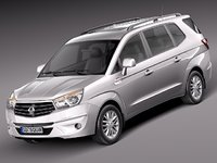 3d model 2013 2014 suv turismo