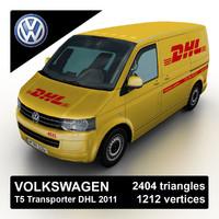 3d max 2011 volkswagen t5 transporter