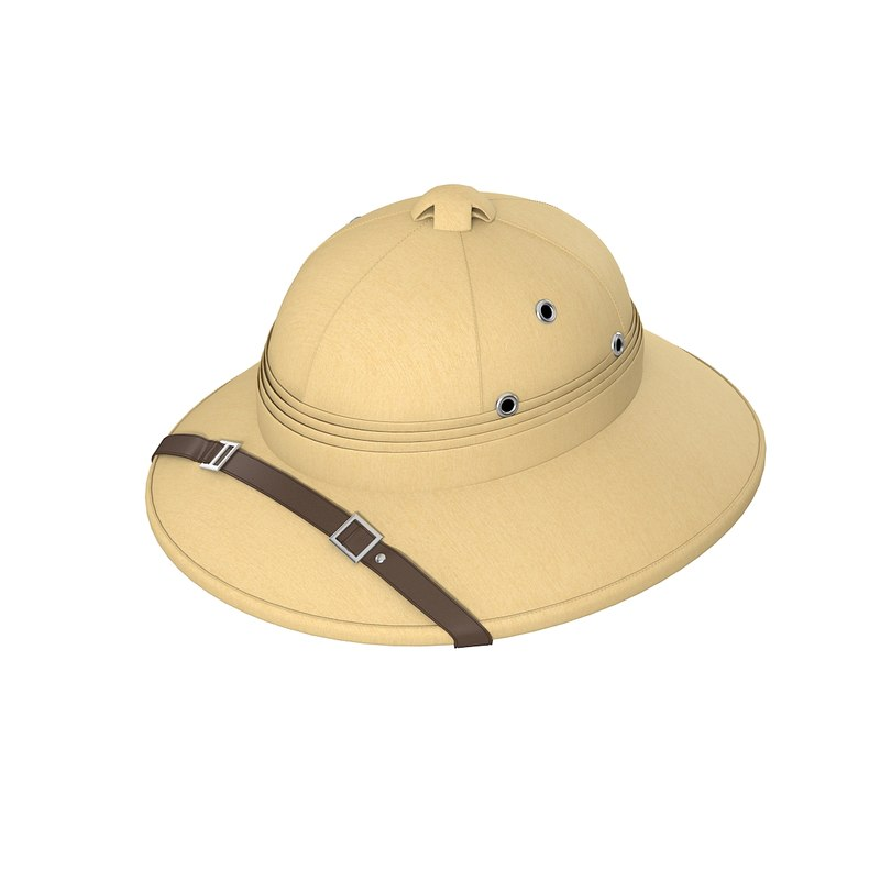 Village Hat French Pith Helmet Big Head men head cover hat cap  0001.jpg
