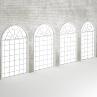 Wall window set