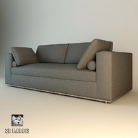 3d model eichholtz sofa atlanta