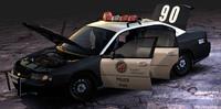 Chevrolet Impala 9c1 Police (2003) - Fbx