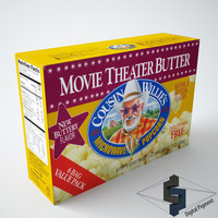 3d cousin movie theater butter