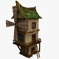 Mill (low poly)
