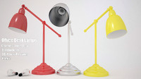 3d office desk lamp w