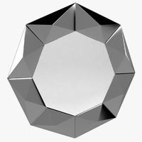 rosetta mirror 3d model