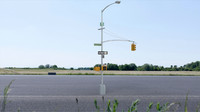 Street Lamp and traffic signal
