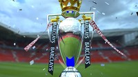 english premier league trophy 3d max