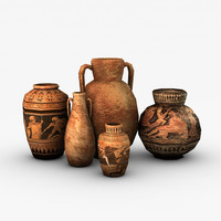 maya ancient vases