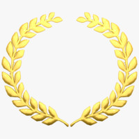 laurel wreath 3D models