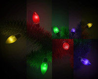 amazing christmas light 3d model