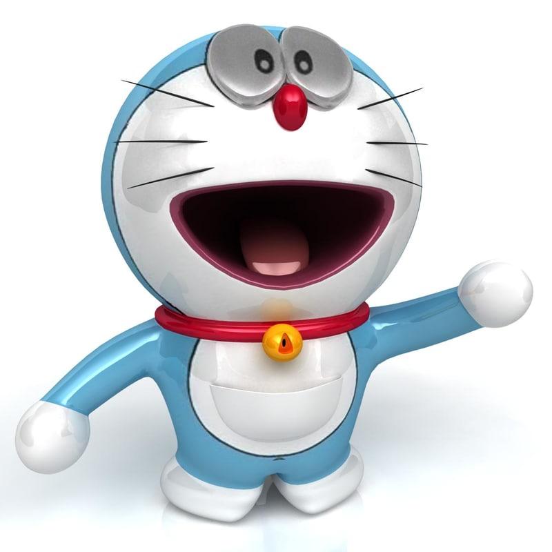 3d 3ds Doraemon Character