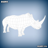 maya rhino base mesh