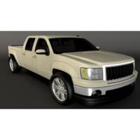 pick truck 3d max
