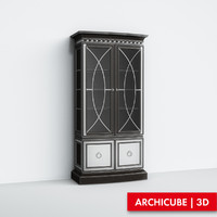 3d realistic furniture model