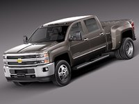 2014 hd 2015 chevrolet chevy 3d model