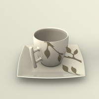 free 3ds model espresso cup