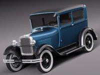 3d classic sedan 1931 1928 model