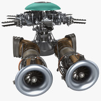 Helicopter Engine 4