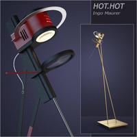 lamp hot 3d model