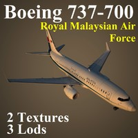 3ds max boeing 737-700 rmf