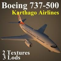 boeing 737-500 kaj max