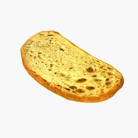 Bread Slice LOD1