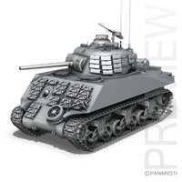 c4d m4a3 sherman - pacific