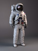 3ds max nasa astronaut apollo 11