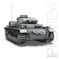 pzkpfw g - panzer 3ds