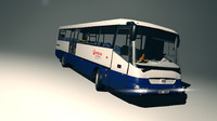 3d model games sor bus