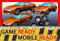 ready car obj