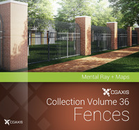 3d volume 36 fences model