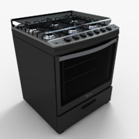 Whirlpool Stove WF5850D