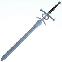 c4d medieval sword executors