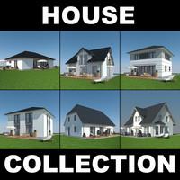 3d family houses