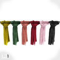 Fashion shop foulards