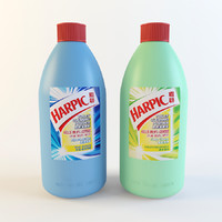 harpic toilet cleaning powder 3d model