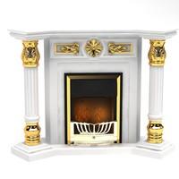 fireplace 2009 3d max
