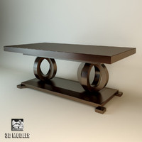 selva dinner table 3d model