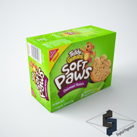 3d box grocery model