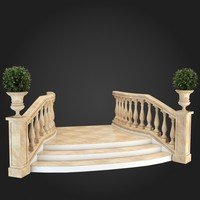 3d staircase
