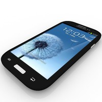 3d samsung i9305 galaxy s model