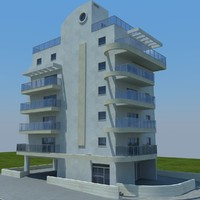 buildings 2 1 3d model