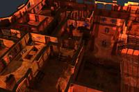 Egypt Pyramid Maze Walls