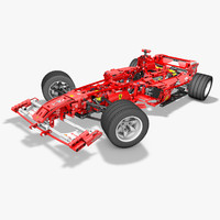 3ds max f1 lego racer
